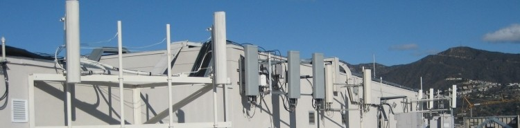 Rooftop Cell Antennas