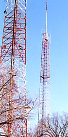 TV and FM Broadcast Towers